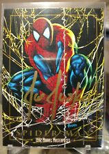 1992 SPIDERMAN Original Marvel Masterpieces Joe Jusko Gold Ink Auto Signed