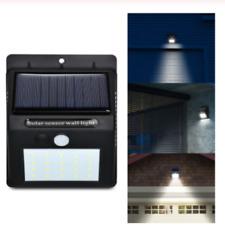 Solar Power 20 LED PIR Motion Sensor Wall Light Security Light