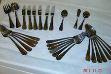 29 pc mix International stainless flatware SIMPLICITY Knives Forks Spoons NICE !