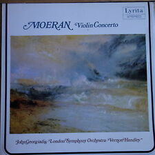 SRCS 105 E. J. Moeran concerto pour violon/John Giorgiadis/HANDLEY/LSO