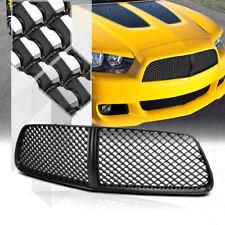 Matte Black ABS 3D Wave Mesh Front Bumper Grille/Grill for 11-14 Dodge Charger