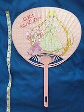 Sailor Moon Q-pot Qpot 2016 Uchiwa Hand Fan Chibimoon Chibiusa Usagi Tsukino