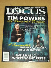LOCUS #628 MAY 2013 VOL 70 #5 TIM POWERS PATRICK TERESA NIELSEN HAYDEN MAGAZINE