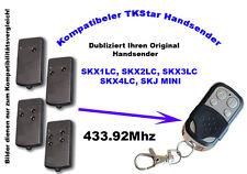433Mhz Hand transmitter compatible to Elka Garage door SKX1LC SKX2LC SKX4LC SKJ