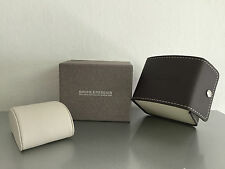 - Brown leather -For 1 watch Balm & Mercier Case Box Case Scatola