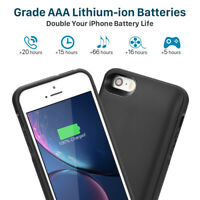 Fits Apple iPhone 5,5S Battery Case Charging 【4,000mAh】 Power Bank Charger Case