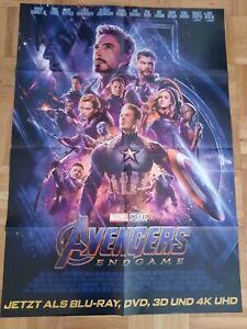 Avengers: Endgame Filmplakat Poster Plakat neu gefaltet
