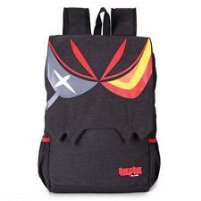 Anime Kill La Kill Matoi Ryuko Unisex Canvas Backpack School Travel Shoulder Bag