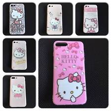 Hello Kitty Silicone Case for iPhone 7, iPhone 7 Plus Baby Pink