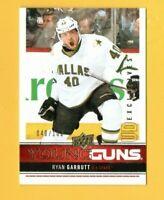 D20225  2012-13 Upper Deck Exclusives #218 Ryan Garbutt YG YOUNG GUNS #40/100