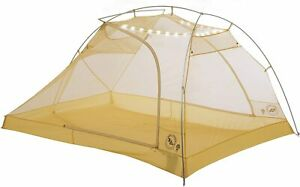Big Agnes Tiger Wall Ul3 Mtnglo Solution Dye - Greige/gray/yellow - 3 Person