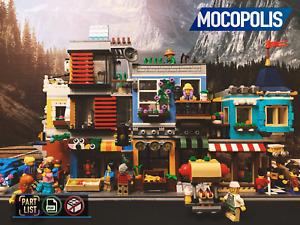 LEGO MOC Modular City Custom House (Grocery Store) | PDF instructions (NO PARTS)