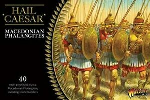 Warlord Games, Hail Caesar, Macedonian Phalangites 1:56 Scale Plastic Model Kit