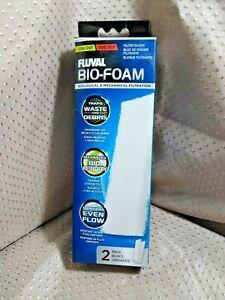 Fluval Bio Foam 2 Pack 206/207 306/307 Filter Block