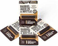 NEW 4 Pack  Barrel Aged in a Bottle Oak Infusion Spiral. FREE SHIPPING