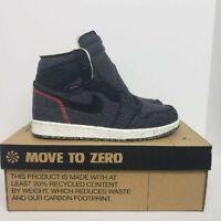 Nike Jordan 1 High Zoom Air Crater Black CW2414001