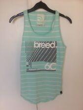 Gorgeous Ladies Girls Breed Vest Top T Shirt  Xs Mint