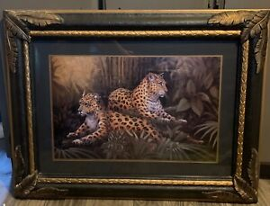 Home Interior Leopards Picture Frame