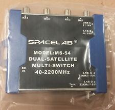 SpaceLab MS-54 Dual Satellite Multi-Switch 40 - 2200MHz