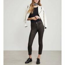 Frame Le High Metallic Skinny Jeans