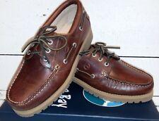 6c6ada4e Men's Orca Bay Buffalo Brown (Elk) Leather Lace Up Deck Shoes
