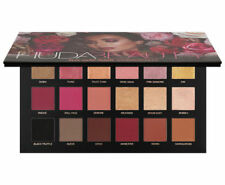 ❤️ Huda Beauty Rose Gold Palette Remastered Textured Eye Shadows 18 Colours ❤️