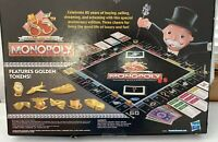 New, Monopoly 85TH Anniversary Game, Includes 8 Golden Tokens. Free Shipping