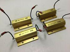 Lot of 4 TE Connectivity CGS HSC100 2K7J 2.7K Ohm 100 Watt 5% Power Resistors