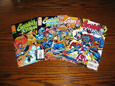 Marvel - GAMBIT and EXTERNALS 1 - 4 Complete!! Glossy VF 1995 Age Apocalypse!