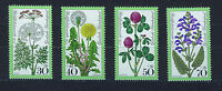 ALEMANIA/RFA WEST GERMANY 1977 MNH SC.B542/B545 Meadow flowres