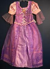 New Disney Store RAPUNZEL Tangled Costume Dress M 7/8