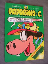 PAPERINO E C. #  33 - 14 febbraio 1982 - WALT DISNEY - OTTIMO