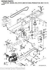 Husqvarna Transmission Drive Belt Fits LTH125, LTH130, LTH1342, LTH135, LTH151 ?