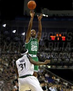 Ray Allen Boston Celtics jump shot  8x10 11x14 16x20 photo 183