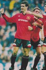 Football Photo>ERIC CANTONA Man Utd 1994-95