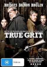 TRUE GRIT - BRAND NEW & SEALED R4 DVD (JEFF BRIDGES, MATT DAMON, JOSH BROLIN)