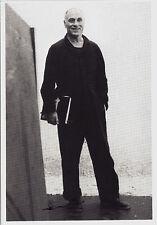 Carte postale d'art-Benjamin Katz: richard serra 1981