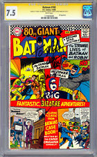 Batman #182 Cgc-Ss 7.5 *Signed Adam West & Burt Ward* Orig Batman & Robin 1966