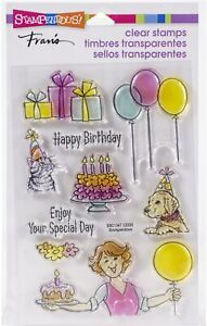 Stampendous Perfectly Clear Stamps-Birthday Gift