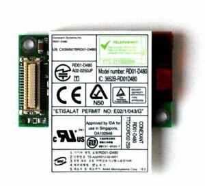 Card Modem, RD01-D480, 3652B-RD01D480