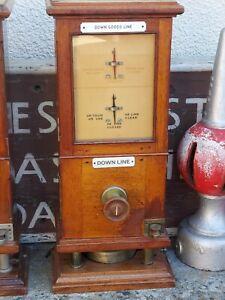 Vintage Railway Signal Box Instrument.