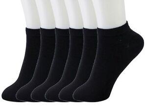 6-12 Packs Ankle Cool Socks Sport Mens Womens Size 6-8 Low Cut Lot NWT#70033A