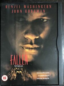 Fallen DVD 1998 Serial Killer Horror Thriller Snap Case Region 2