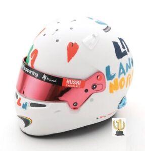 1:5 Spark 5HF052 Mini Helmet Mclaren, Lando Norris, British Gp 2020