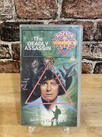 Doctor Who: The Deadly Assassin -Vhs- Tom Baker