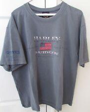 Groves Harley Davidson Winchester VA Gray T-shirt Large EUC