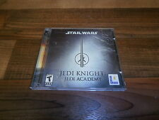 star wars jedi knight   jedi academy 2 disc PC game