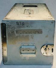 SABENA Aluminium atlas unit airplane food container case box Rare Collectable