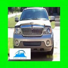 2003-2004 LINCOLN NAVIGATOR CHROME TRIM FOR LOWER GRILL GRILLE W/5YR WARRANTY