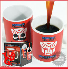 TRANSFORMERS Mug Thermique Robots in Disguise Heat Change # NEUF #